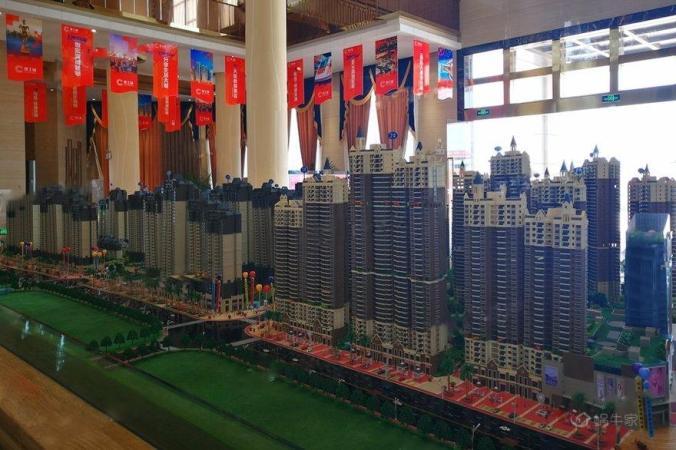 建工城实景图