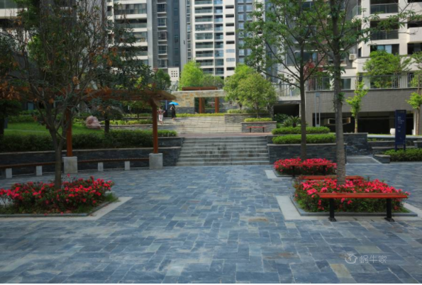 四方新城·和园实景图