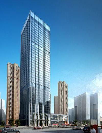 联发国际大厦效果图