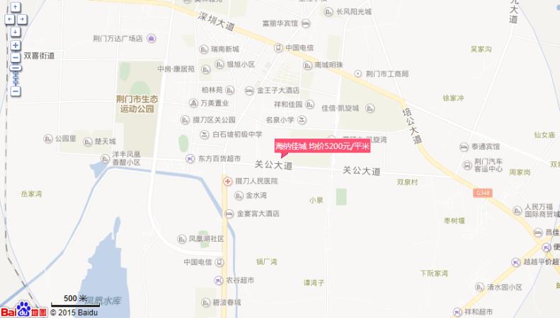 海纳佳城位置图