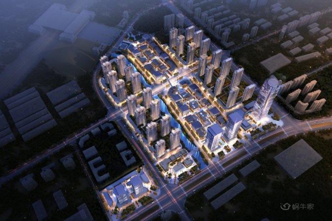 龙山中央商务区规划图