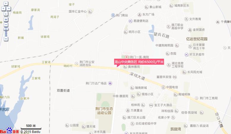 龙山中央商务区位置图