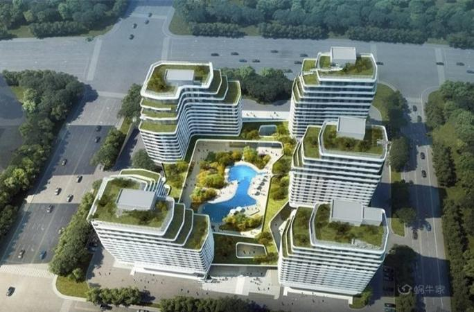 长江青年城效果图