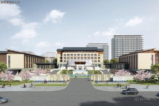 温泉新城效果图