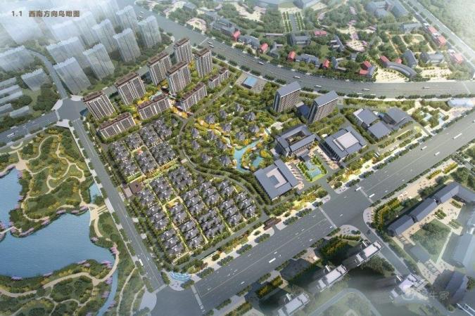 温泉新城规划图