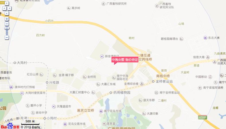 中海央墅位置图