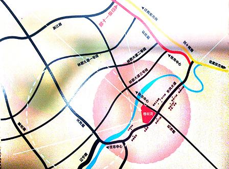 庄仪.橡树湾规划图