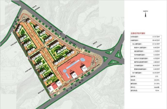 十堰万达广场规划图