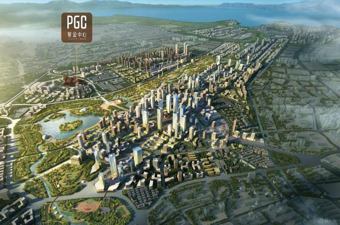 艺城·PGC紫金中心规划图