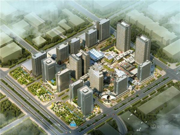 涌鑫哈佛中心规划图