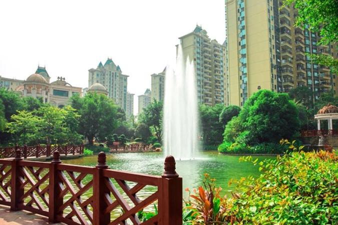 南宁恒大绿洲实景图