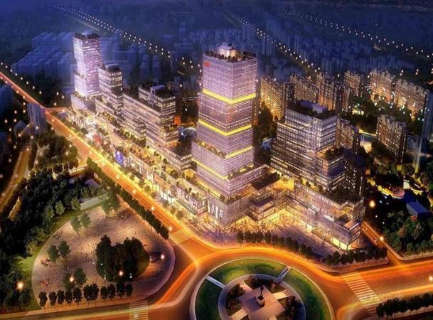 中豪国际广场效果图