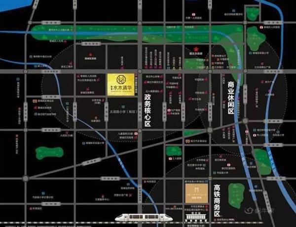 新城水木清华位置图