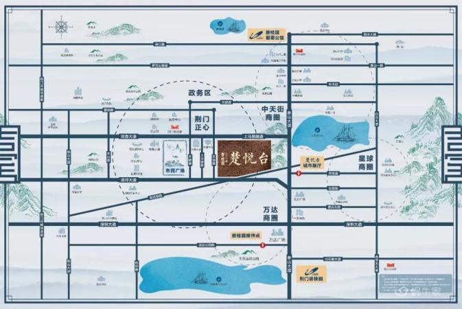 碧桂园楚悦台规划图