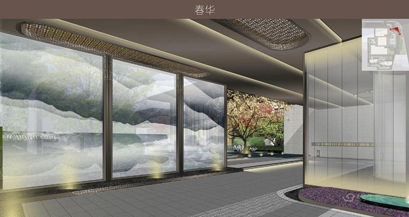 合景·云溪四季效果图