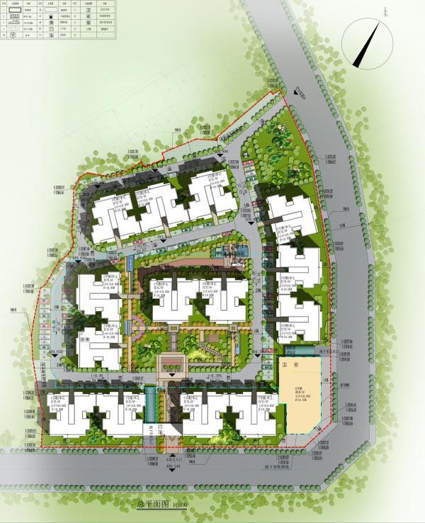 优博御苑规划图