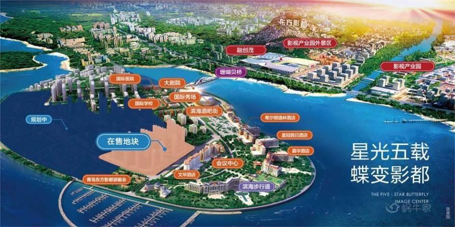 青岛东方影都(星光岛)规划图