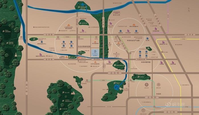 葛洲坝北京紫郡兰园位置图