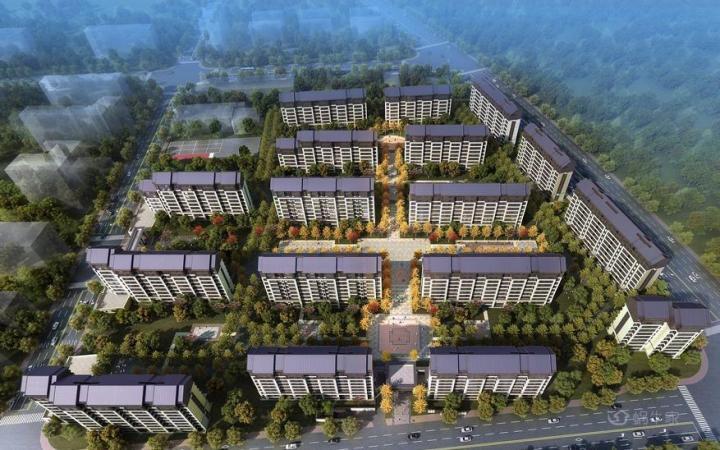 葛洲坝北京紫郡兰园规划图