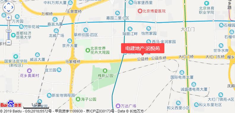 电建地产洺悦苑位置图