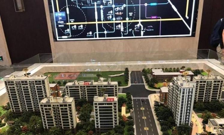 电建地产洺悦苑规划图