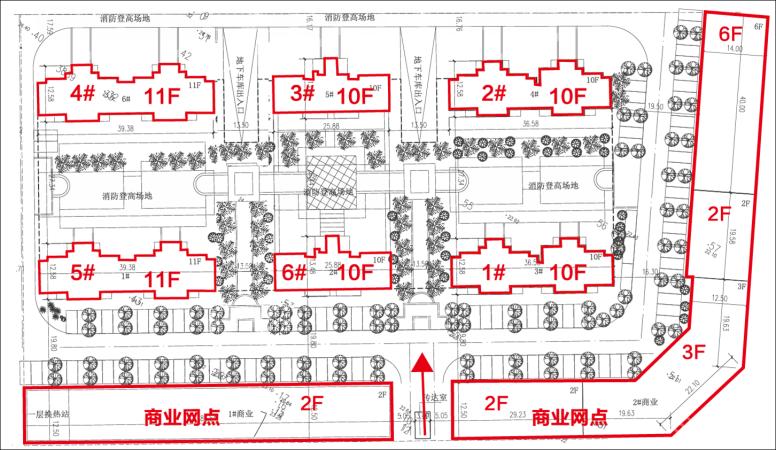 吉安君庭规划图