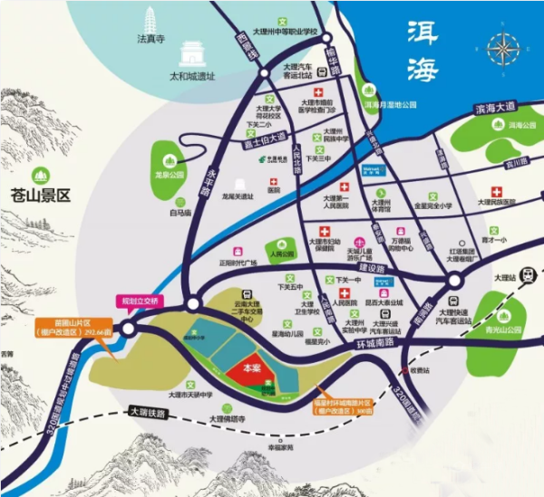泰玺茗苑位置图