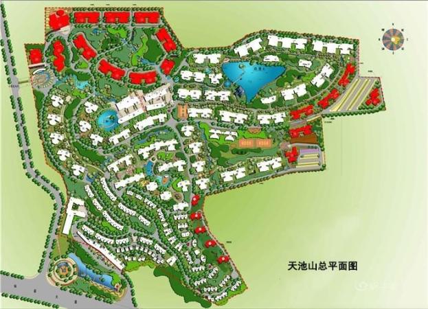 天池山·中脊规划图