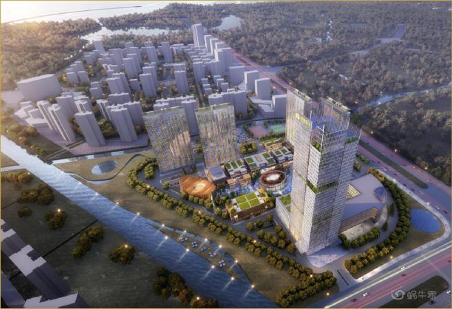 绿地·滇池国际健康城实景图