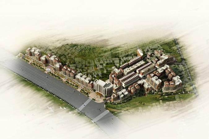 平冈新城规划图