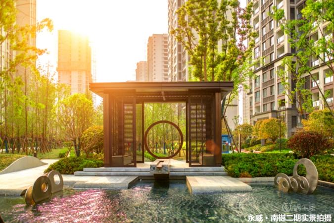 永威南樾实景图