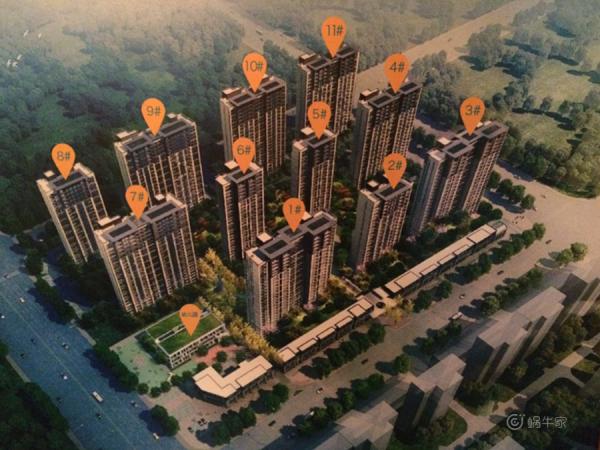 永威南樾规划图