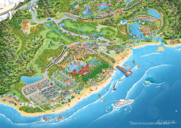 鼎龙湾规划图