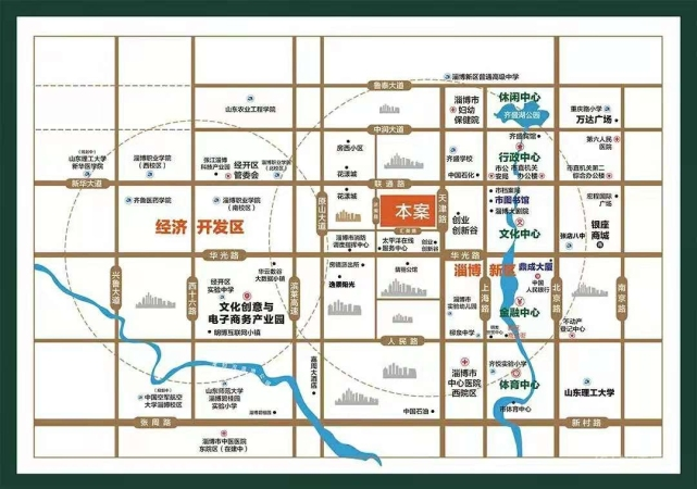鼎成·森林城位置图