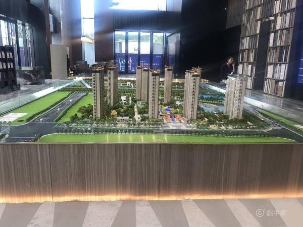 东原阅城实景图