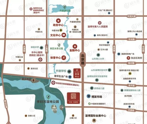 中南·春溪集位置图