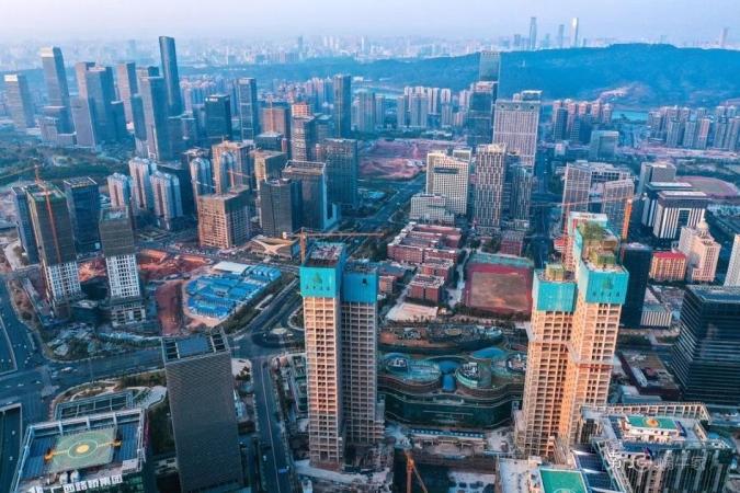 南宁恒大国际中心实景图
