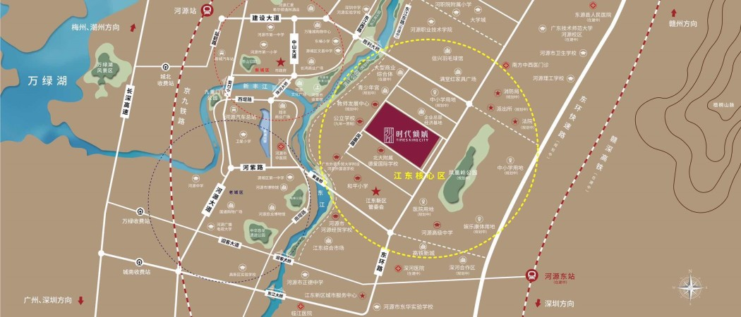 时代中国·时代倾城位置图