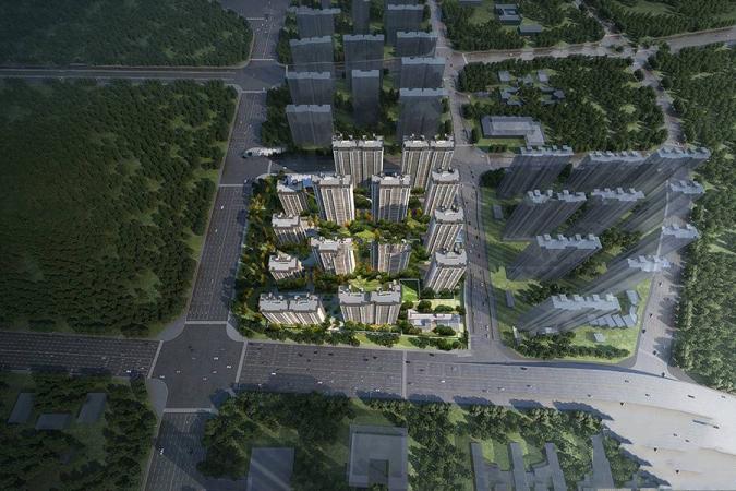 东原阅城效果图