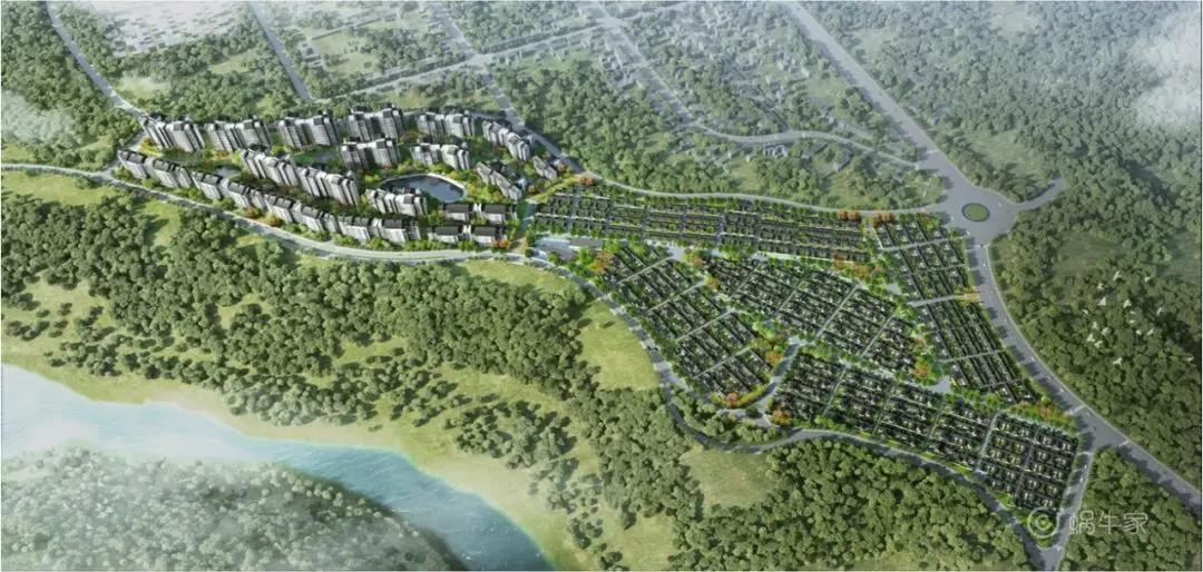 高黎贡小镇项目效果图